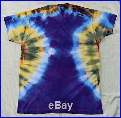 Rare Undated Ed Donohue American Beauty Grateful Dead Tie Dye T-shirt