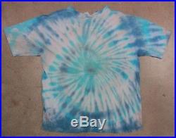 Rare Vintage 1989 Grateful Dead Fred Flintstone Tie Dye Concert Tour T Shirt