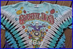 Rare Vintage 1991 Grateful Dead Las Vegas Collectible Tie Dye T-shirt Men's XL