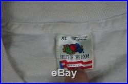 Rare Vintage GRATEFUL DEAD Tie Dye New York City Taxi MSG 1990 Tour Shirt 90s XL