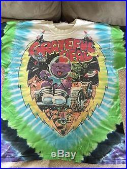 Rare. Vintage Grateful Dead Cosmic Charlie S/s Concert Tour T-shirt Tye Dye