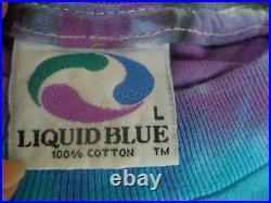 Rare Vintage Grateful Dead L. A. COLISEUM Trojans June 1 1991 Tie Dye T-Shirt L