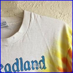 Rare Vintage Grateful Dead Tie Dye T Shirt Large Deadheadland Disneyland