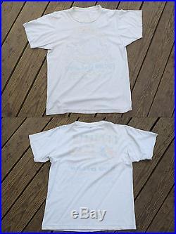 Rare Vintage Grateful Dead and Bob Dylan Summer Tour July 1987 T-shirt Men's L