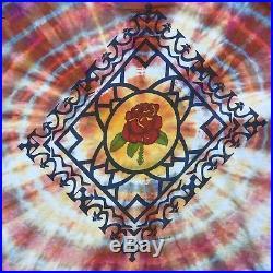 Rare Vtg 70's Grateful Dead ED DONOHUE T Shirt Tie Dye 70s Rock Band XL Tee