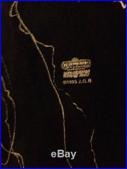 TRUE VINTAGE 1993 JERRY GARCIA Band Winterland Concert Shirt XL L Grateful Dead