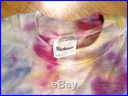 The Grateful Dead Fear And Loathing On Tour'87 T-shirt Tye Dye Skeleton & Bear