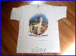 The Grateful Dead Las Vegas Nevada 1995 Tour Vintage T-shirt 30th Anniversary
