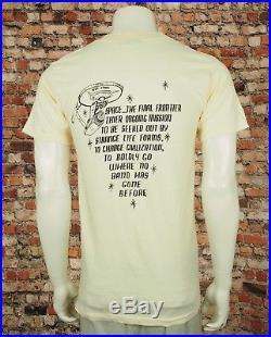 The Grateful Dead Vtg 90's They're Dead Jim Concert Shirt Mens Small