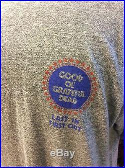 True Vintage Grateful Dead Crew Shirt