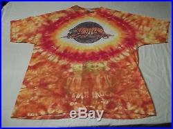 VERY RARE Vtg 1990's JERRY GARCIA Jerry's Kids GRATEFUL DEAD TIE DYE T-Shirt XL