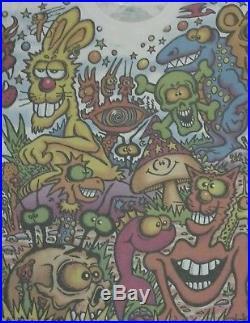 VINTAGE GRATEFUL DEAD Head JOEY MARS ART ROCK T Shirt 90s TYE DYE Tour Hippy
