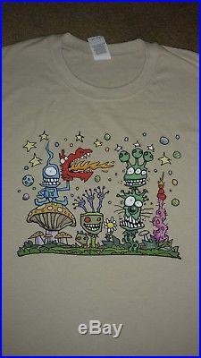 VINTAGE GRATEFUL DEAD Head JOEY MARS ART ROCK T Shirt psychedelic Tour Hippy