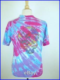 Vintage Grateful Dead Steve Miller Un Las Vegas Tie Dye Concert T Shirt 1992 L