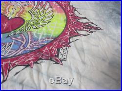 VINTAGE Grateful Dead Concert Shirt Adult Medium Mikio Tie Dye Dragon 1985 80s