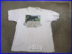 VINTAGE The Grateful Dead Rainforest Panther Concert Shirt Adult Large 1989 RARE
