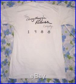 VTG 1988 Grateful Dead Jerry Garcia Anything's Possible Tour Men's T-shirt M 80s
