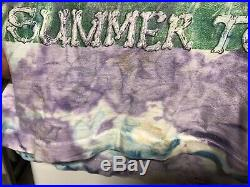 VTG 1994 Grateful Dead T Shirt Summer Tour Tie Dye 90s Tee Concert Rock Band XL