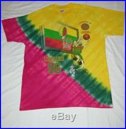 VTG 1996 Grateful Dead T Shirt Tie Dye Sz L Lithuania Basketball 96 Jerry Garcia