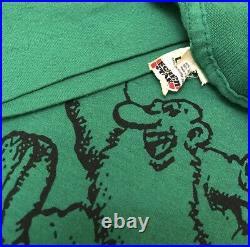 VTG 80s Robert Crumb Cartoon Sky Falling Grateful Dead Rare Vintage Shirt L