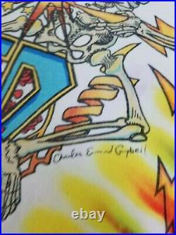 VTG 90s 1992 Liquid Blue Grateful Dead Summer Tour 92 T Shirt Band Concert XL