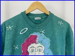 VTG 90s Grateful Dead April Fools Atlanta Spectrum Batik Jester Clown T-Shirt XL