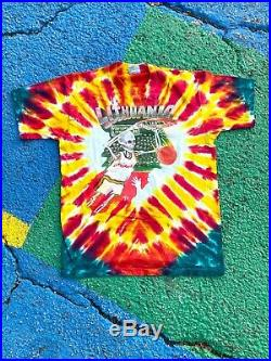 VTG Grateful Dead 1992 Lithuania Olympic Basketball Barcelona tie dye shirt L