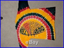 VTG Grateful Dead Lithuania Basketball 1996 Olympics Shirt Large Tie Dye Shirt