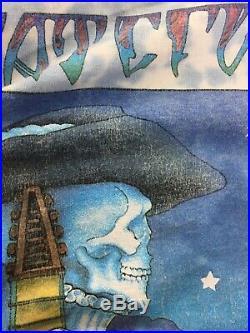 VTG Grateful Dead Mardi Gras Oakland Shirt Size XL Measures L 1994 Concert Tour