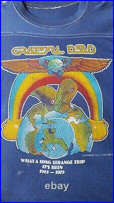 VTG Grateful Dead shirt 70s festival Mouse Kelley Concert band Rock psychedelic