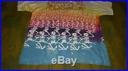 VTG Liquid Blue Grateful Dead T-Shirt Tie-Dye 1992 Brockum Collection XL