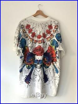 VTG NOS 1992 Grateful Dead Concert Band Tshirt Shirt Tee XL Brockum Metal Rock