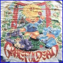 VTG Vintage 1997 Grateful Dead'China Rider' Jerry Garcia Deadhead T Shirt L