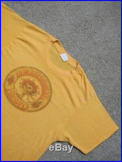 Vintage 1970s Grateful Dead Screen Stars T Shirt 50/50 Cotton Poly Blend