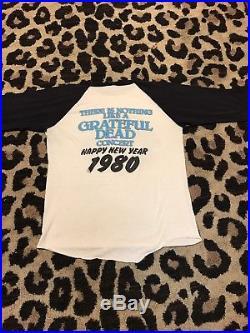 Vintage 1979 Grateful Dead Concert T Shirt Stanley/Mouse Oakland Coliseum 1980