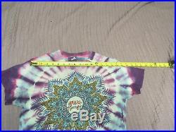 Vintage 1980's Grateful Dead tie dye t-shirt skull on front celtic knot on back