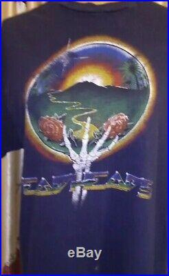 Vintage 1980s Grateful Dead T-Shirts Lot Of 5 M/L/XL 80s Dead Tour Tee RARE