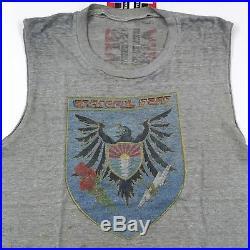 Vintage 1983 Grateful Dead Tour T-Shirt M / L 80's PAPER THIN Worn / Distressed