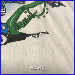 Vintage 1985 Grateful Dead T Shirt Moon Otter 80s VTG USA XL Stedman