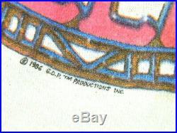 Vintage 1986 Jerry Garcia Band JGB Halloween Show T-Shirt Grateful Dead size L