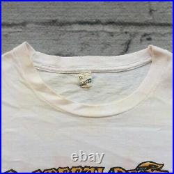 Vintage 1987 Grateful Dead Its Worth The Trip Summer Tour Tshirt Shirt Rock Band