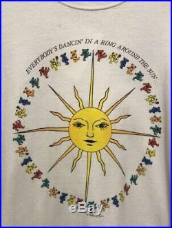 Vintage 1988 Grateful Dead Long Sleeve T-Shirt Size XL