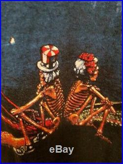 Vintage 1990 Grateful Dead T-Shirt San Francisco Wild Oats, Size XL