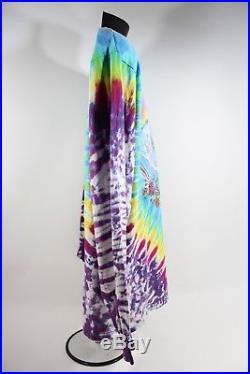Vintage 1990s GRATEFUL DEAD Long Sleeve Tie-Dye Shirt Size XL Deadhead