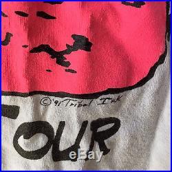 Vintage 1991 Grateful Dead Endless Tour Summer Concert Band Shirt Surf 90s
