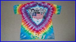 Vintage 1992 GRATEFUL DEAD Old Kids on the Block Tie Dye Shirt LRG Jerry Garcia