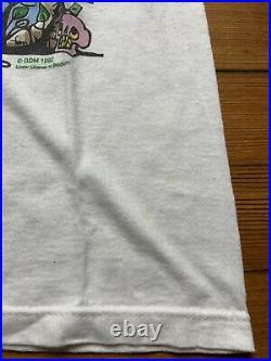 Vintage 1992 Grateful Dead Spring Tour Concert Shirt Brockum Large White