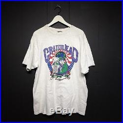 Vintage 1992 The Grateful Dead Las Vegas tour concert T-Shirt By oneita XL USA
