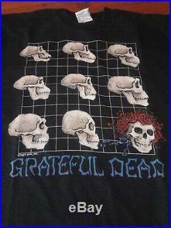 Vintage 1993 Grateful Dead Long Strange Trip Shirt