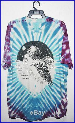 Vintage 1993 Grateful Dead Rock Tour Concert T-shirt Hippie Psychedelic Tie Dye